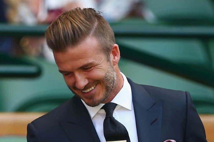 Gaya rambut David Beckham.