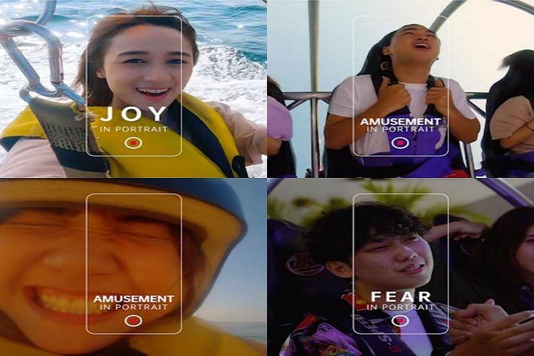 Berbagai Emosi yang Tertangkap Kamera