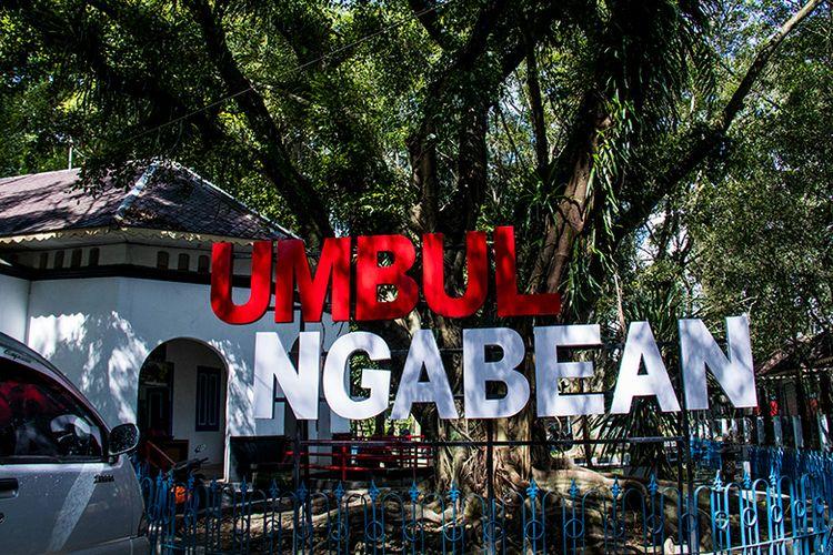 Umbul Ngabean yang merupakan pemandian paling timur di Umbul Pengging Boyolali.
