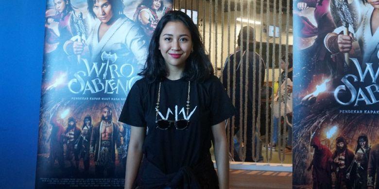 Sherina Munaf, pemeran Anggini di film Wiro Sableng.
