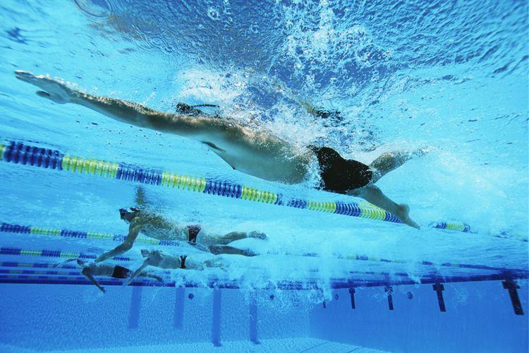 Ilustrasi berenang