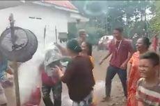 Viral, Video Pesta Penyambutan Kakek ODP Usai Karantina, Disiram Tepung dan Air Kembang