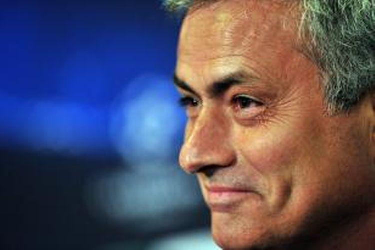 Manajer Chelsea, Jose Mourinho.