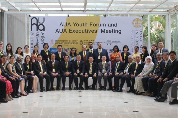 Asian Universities Alliance (AUA) dan Universitas Indonesia (UI) menggelar pertemuan AUA Executives Meeting di Bali, 15-16 November 2018.