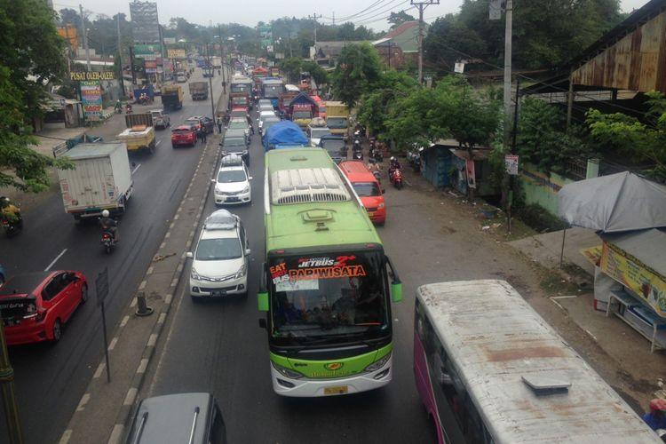 Jalur Pantura Semarang pada H-4 lebaran