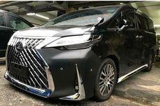 Bikin Tampang Toyota Alphard Jadi Lexus LM, Berapa Biayanya?