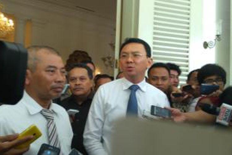 Wali Kota Bekasi Rahmat Effendi dan Gubernur DKI Basuki Tjahaja Purnama