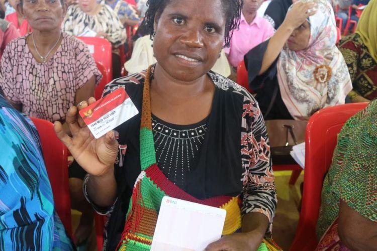 Realisasi pembelanjaan Bantuan Pangan Non Tunai (BPNT) di Kota Jayapura telah mencapai 57,08 persen.