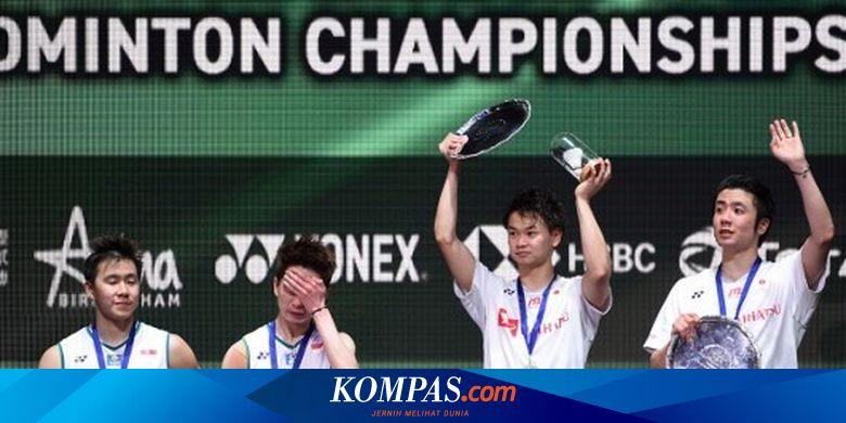 Sejarah Diukir Endo/Watanabe Usai Kalahkan Marcus/Kevin pada Final All England