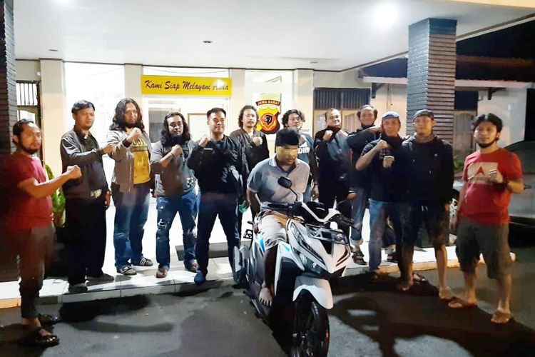 Tim Satuan Reserse Kriminal Kepolisian Resor Jepara, Jawa Tengah meringkus IP (26) di Cengkareng, Jakarta barat, Senin (18/5/2020).