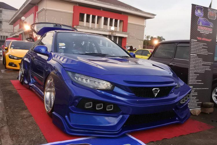 Honda Civic Estilo yang menjadi The King dalam ajang Sunsets Weekend Autofest 2019
