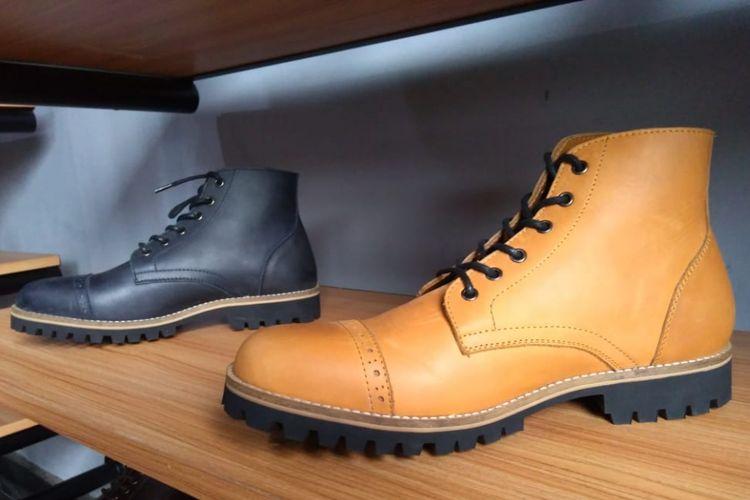 Salah satu desain sepatu produksi Brygan Foot Wear.