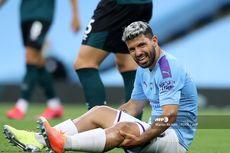 Kabar Buruk bagi Man City, Sergio Aguero Harus Absen Lebih Lama