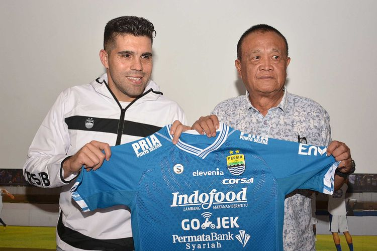 Fabiano Beltrame resmi menjadi pemain Persib Bandung.
