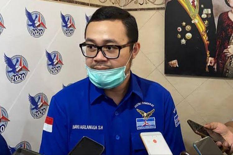 Sekretaris DPD Partai Demokrat Jatim Bayu Airlangga