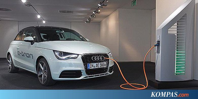 Mobil listrik e-tron dari Audi