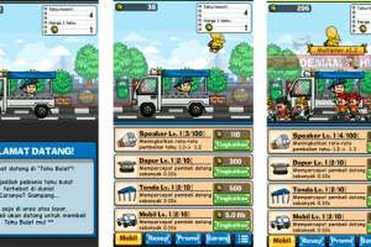 Studio aplikasi asal Bandung mengadopsi tren tahu bulat menjadi sebuah permainan untuk ponsel Android