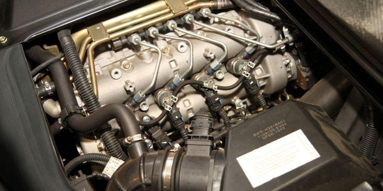Mesin diesel 1.3L pikap Sokon import dari Italia.