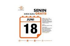 Hari Ini 18 Juni, Kirim Buku Gratis Melalui Kantor Pos Indonesia