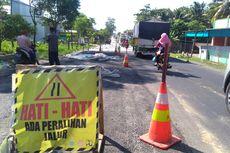 H-10 Lebaran, Proyek Jalan di Jalur Selatan Jawa Dihentikan