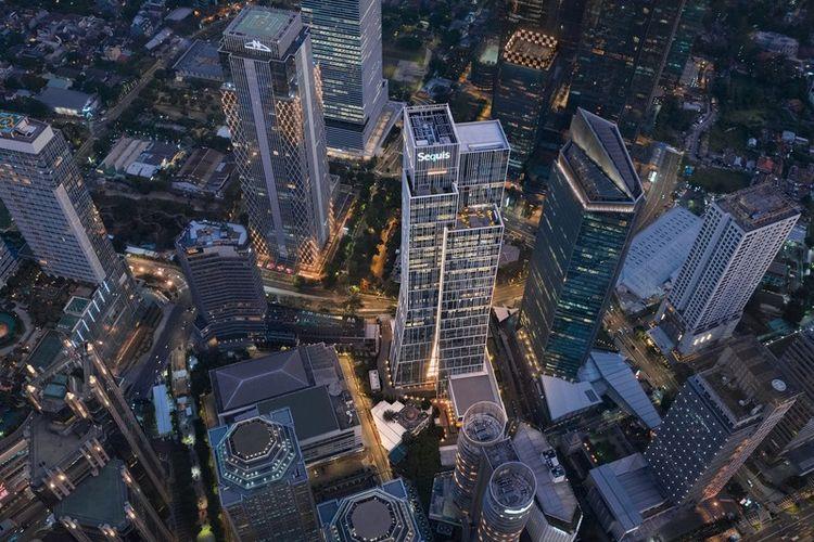 Gedung Perkantoran Sequis Tower di SCBD Jakarta Selatan