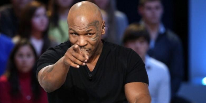 Mantan petinju kelas berat, Mike Tyson.