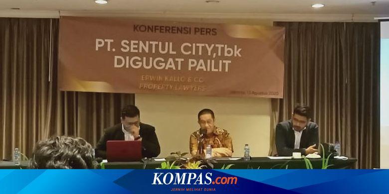 BKSL Krnologi Gugatan Pailit Sentul City