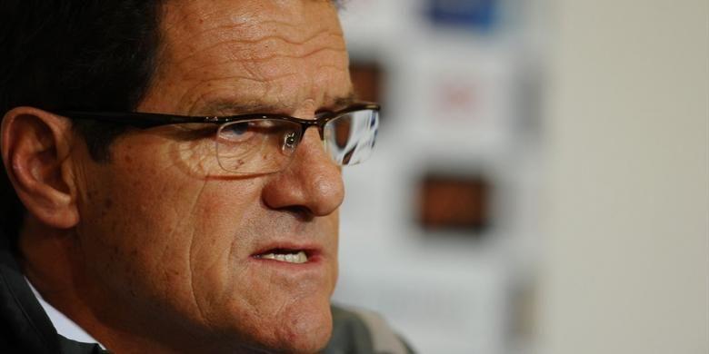 Pelatih asal Italia, Fabio Capello.