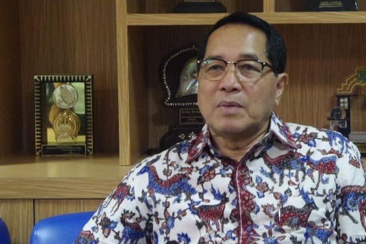 Wakil Ketua Badan Legislasi (Baleg) DPR RI Firman Seobayo di Kompleks Parlemen, Senayan, Jakarta, Rabu (21/12/2016)
