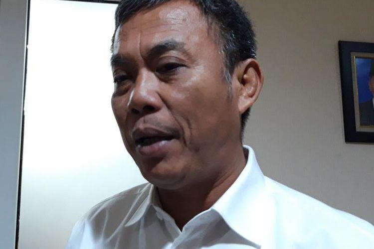 Ketua DPRD DKI Jakarta Prasetio Edi Marsudi di Gedung DPRD DKI Jakarta, Jalan Kebon Sirih, Jakarta Pusat, Rabu (14/8/2019).