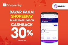 ShopeePay Hadirkan Kanal Pembayaran Baru di Aplikasi Live.On