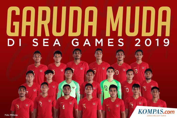 Garuda Muda di SEA Games 2019
