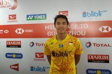 Gagal ke Final Indonesia Masters 2019, Jonatan Christie Minta Maaf