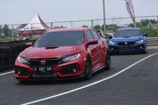 Komunitas Honda Civic Type R Rasakan Sensasi Ngebut di Sirkuit