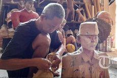 Cerita Pematung Tunanetra Asal Klaten, Sulap Kertas Bekas Jadi Bernilai Seni Tinggi
