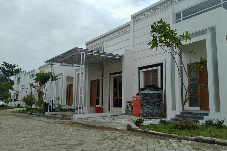 Rumah tapak di Sapphire Mansion, Desa Karangrau, Kecamatan Sokaraja, Banyumas, Jumat (14/2/2020).