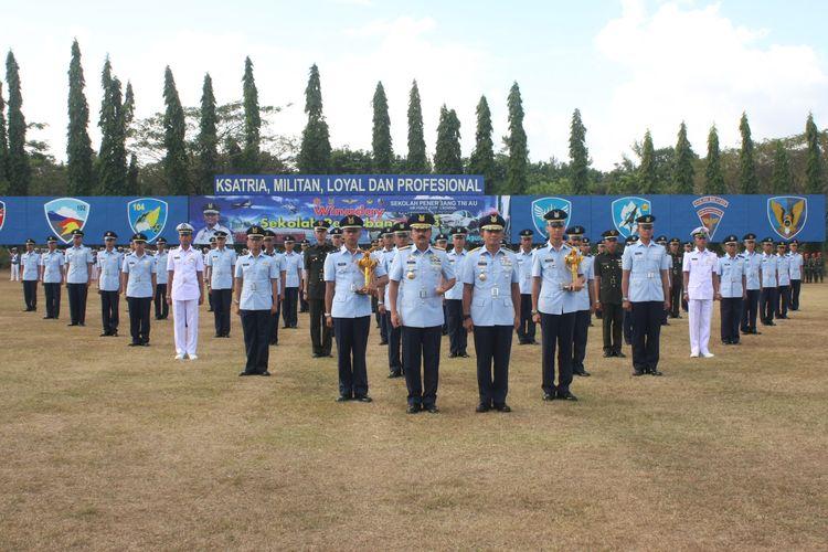 Ilustrasi perwira TNI AU.