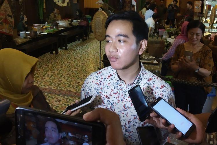 Putra sulung Presiden Joko Widodo, Gibran Rakabuming Raka.