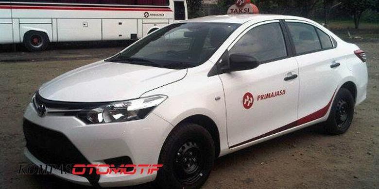 All-New Toyota Vios menjadi armada salah satu perusahaan taksi.