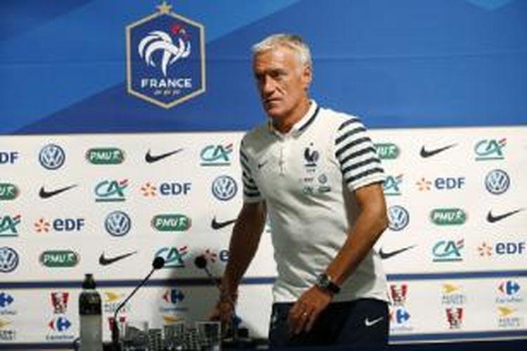 Pelatih tim nasional Perancis, Didier Deschamps.
