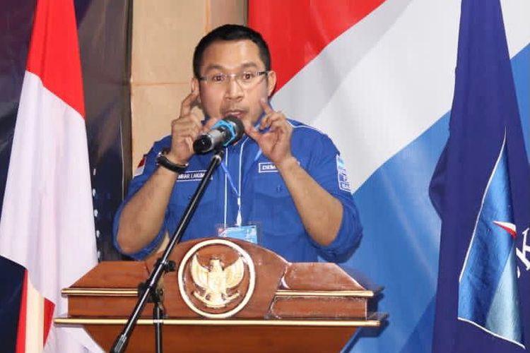 Deputi Badan Pemenangan Pemilu (Bappilu) DPP Partai Demokrat Kamhar Lakumani