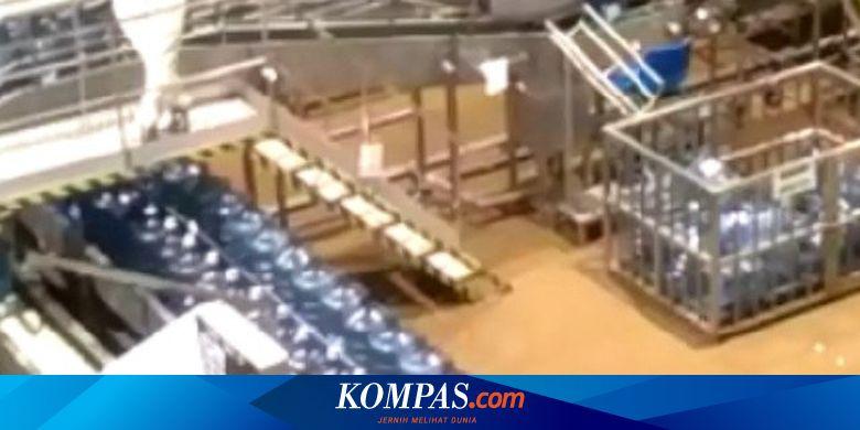 Pabrik Aqua di Sukabumi Ikut Terendam Banjir Banda