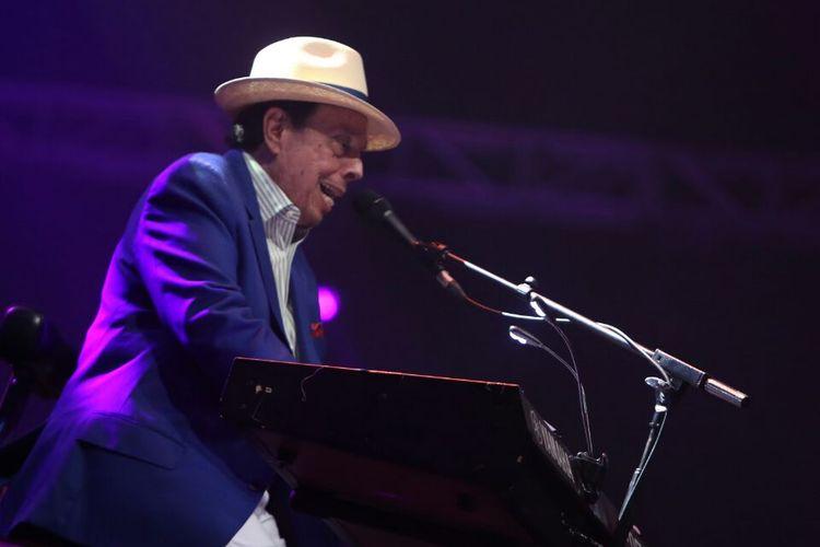 Sergio Mendes tampil pada perhelatan Java Jazz Festival di JIExpo Kemayoran, Jakarta Pusat, Sabtu (4/3/2017) malam.
