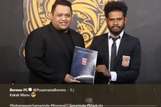Imanuel Wanggai Ungkap Alasannya Bergabung ke Borneo FC