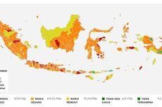 Daftar 108 Daerah Berstatus Zona Merah Covid-19 di Indonesia, Jawa Tengah Masih Tertinggi