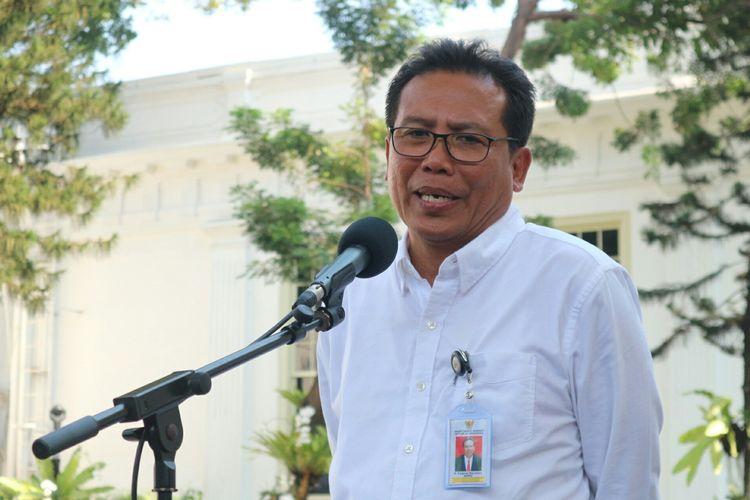 Fadjroel Rachman usai ditunjuk sebagai Staf Khusus Presiden Bidang Komunikasi sekaligus Juru Bicara Presiden