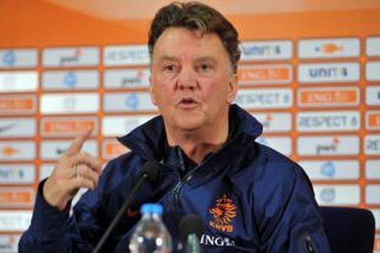 Pelatih tim nasional Belanda, Louis van Gaal, akan menjadi manajer Manchester United usai Piala Dunia 2014 Brasil.