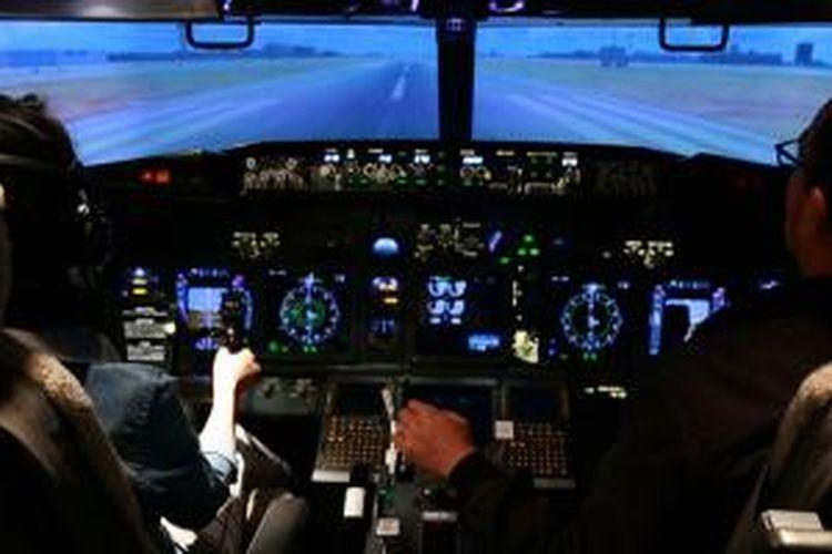 Flight Experience, berlokasi di Gandaria City. Rasakan menjelajah dunia di lebih dari 24.000 negara dengan simulator Boeing 737-800