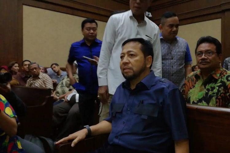 Mantan Ketua DPR Setya Novanto di Pengadilan Tindak Pidana Korupsi, Jakarta, Senin (12/8/2019).