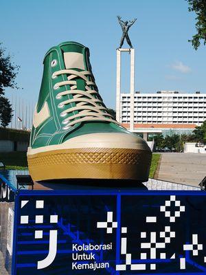 Instalasi Sepatu Compass di Jakarta